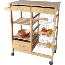 Kitchen Island With Drawers Costway Rolling Kitchen Trolley Island Cart Drop Leaf W Storage