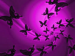 pink halloween background purple butterfly wallpaper wallpapers browse