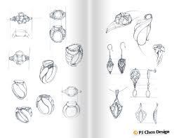 tudor inspired ring design project u2014 pj chen design
