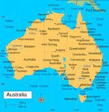 map of austrailia australia pictures map