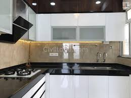 used kitchen cabinets in pune types of finishes in modular kitchen civillane
