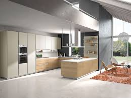 Functional Kitchen Design Contemporary Italian Kitchen Offers Functional Storage Solutions