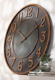Unique Large Wall Clocks 38 Inch Farmhouse Clock Rustic Wall Clock Large Wall Clock