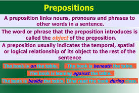 The Book Is On The Table 07 Prepositions