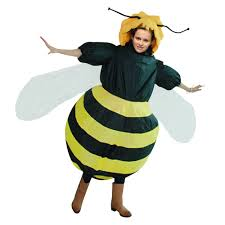 Fat Man Halloween Costume Newest Inflatable Bee Costume Halloween Party Funny Fat Man Fancy