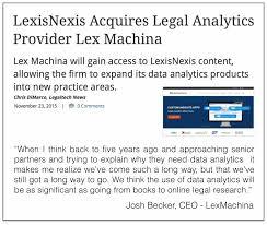 lexisnexis vs clear judicial decision making archives computational legal studies