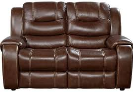 brown leather loveseat recliner u2013 querocomprar me
