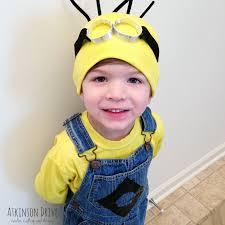 baby minion costume no sew despicable me minion costume atkinson drive