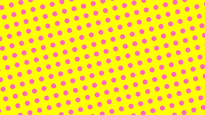 yellow with pink polka dots wallpaper yellow polka dots pink spots ffff00 ff69b4 195 47px 93px