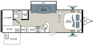 Dutchmen Aerolite Floor Plans 2014 Dutchmen Aerolite 250 Kbhs Travel Trailer Tulsa Ok Rv For