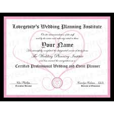 wedding planner certification course become a wedding planner