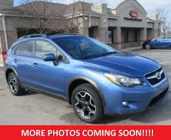 subaru orange crosstrek 2015 used subaru xv crosstrek 2 0 limited awd heated leather