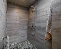 Modern Gray Tile Bathroom Best 25 Modern Gray Tile Bathroom Ideas Remodeling Photos Houzz