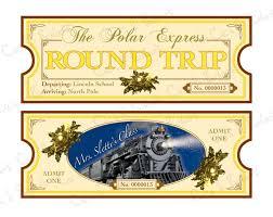 polar express theme diy printable ticket by cici by ciciandbobos