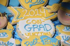 i love l a u2013 ucla graduation cookies