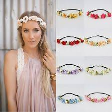 flower hair band flower headband hair accessories for women ebay