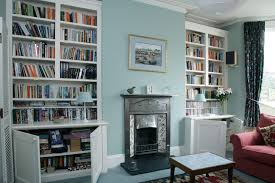 bespoke alcove bookcases joat london bespoke furniture company