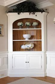 Corner Cabinet Dining Room Hutch Decorating Royal Mission Corner Hutch With 3 Drawers For Home