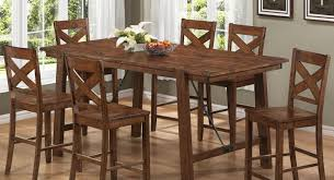 Dining Room Chair Sets Of 4 by Dining Room 21 Photos Gallery Of Best Bar Height Dining Table
