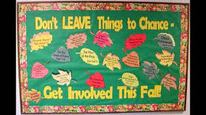 Fall bulletin board idea decoratings for teachers