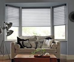 Kitchen Bay Window Curtains by Wonderful Window Blinds Ideas Home Window Treatments Ideas For Log