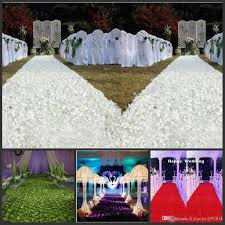 arrival luxury wedding centerpieces favors 3d rose petal carpet