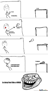 Meme Throws Table - le lazy derp by stylogurll meme center