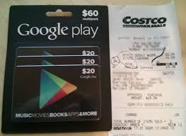 purchase play gift card ysk costco has 3x 20 play gift cards for 53 99 android