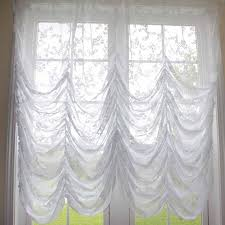 White Balloon Curtains Balloon Curtain