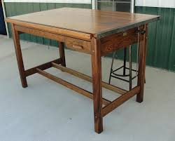 Drafting Tables Toronto Vintage Industrial Hamilton Drafting Table Kitchen Island