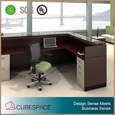 Modern Office Reception Desk L Shape Modern Office Furniture Reception Desk View Office