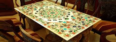 Handicraft For Home Decoration by Marble Paintings Handicrafts Medallion Inlay Pietra Dura