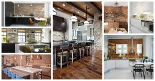 kitchens with brick walls modern brick wall kitchens that will catch your eye