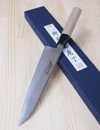 japanese chef gyuto knife miura knives wainox serie