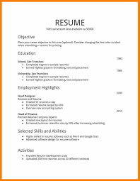 How To Create A Job Resume by How To Make A Resume For A Job Resume For Your Job Application