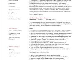 trainer resume example ideas simple essay healthy diet cheap