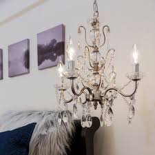 Light Crystal Chandelier House Of Hampton Sherwood 4 Light Crystal Chandelier U0026 Reviews