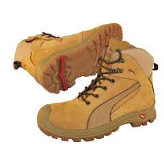s steel cap boots nz safety boots nullarbor wheat zip sided work boots with