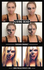 Halloween Skeleton Faces by Best 25 Half Skeleton Makeup Ideas On Pinterest Half Skeleton