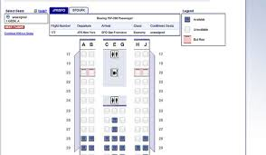 American Airlines Floor Plan American Airlines Upgrades Website Seat Selection Process