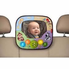 baby car mirror with light fisher price music lights mirror ebay