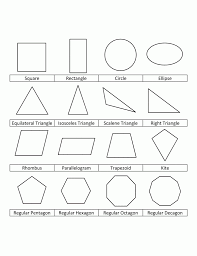 Geometric Shapes Coloring Pages For Kids Art Class Pinterest Coloring Pages Shapes