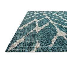 Turquoise Rug 5x7 E163 Blue Textured Rug 5x7 Ft At Home At Home