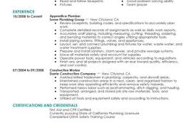 Plumbing Resume Examples by Plumber Resume Samples Visualcv Resume Samples Database Plumbing