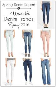 denim report 7 wearable spring denim trends 2016