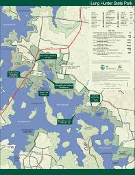 100 Acre Wood Map Long Hunter State Park U2014 Tennessee State Parks