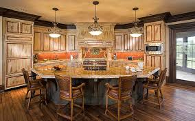hexagon shaped kitchen table prior lake chateau john kraemer sons