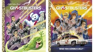 these ghostbusters golden books are who ya gonna call for a