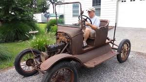 first car ever made with engine still running model t ford starts 60 years old youtube