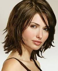 medium length haircuts for women with pear shaped face google